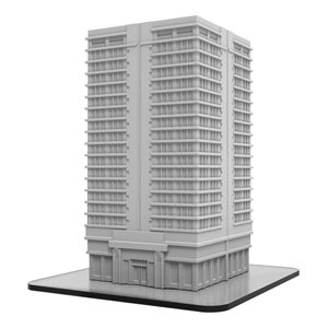 Monsterpocalypse: Terrain Apartment Building (resin)