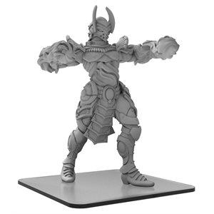 Monsterpocalypse: Incinerus Elemental Champions Monster (metal / resin)