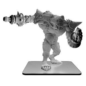 Monsterpocalypse: Blastikutter – Subterran Uprising Monster (metal / resin) ^ JUN 12, 2020