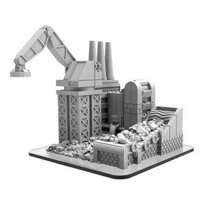 Monsterpocalypse: Reclamation Facility - Building (resin / metal) ^ OCT 2020