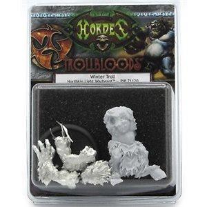 Trollbloods: Winter Troll Light Warbeast (Resculpt) (Resin / Metal)
