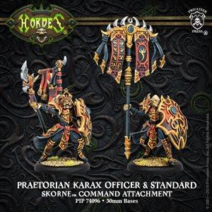 Skorne: Praetorian Karax Command & Standard