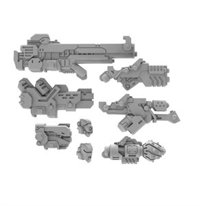 Warcaster: Marcher Strike Raptor A Weapon Pack - Worlds Pack (metal) ^ OCT 2020