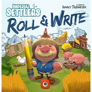 Imperial Settlers: Roll and Write (No Amazon Sales)