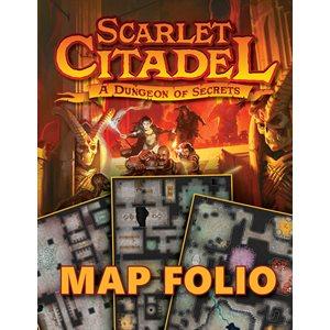 Scarlet Citadel Map Folio(5E Compatible)