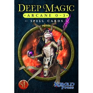 Deep Magic Spell Cards: Arcane 0-3 (5E Compatible) ^ Q4 2021