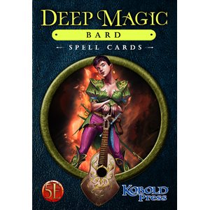 Deep Magic Spell Cards: Bard (5E Compatible) ^ Q4 2021