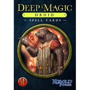 Deep Magic Spell Cards: Druid (5E Compatible) ^ Q4 2021
