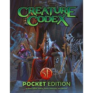 Creature Codex: Pocket Edition (5E Compatible)