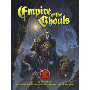 Empire of the Ghouls Hardcover (5E Compatible)