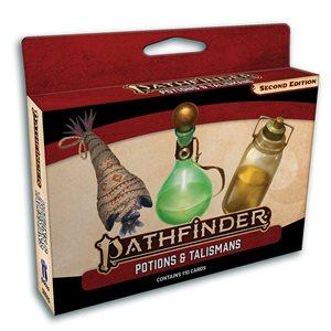 Pathfinder 2E: Accessories: Potions & Talismans Deck