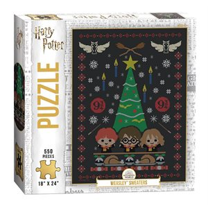 "Puzzle (550 pc): Harry Potter™ ""Weasley™ Sweaters"" (No Amazon Sales)"