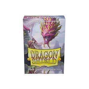 Sleeves: Dragon Shield Matte Japanese Pink Diamond (60)