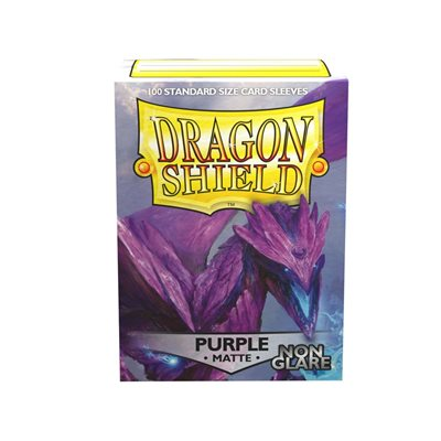 Sleeves: Dragon Shield Matte Purple NonGlare (100)