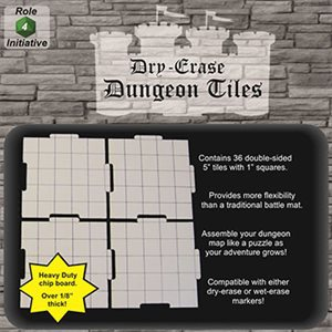 Dungeon Tiles - Pack of 36 five inch squares