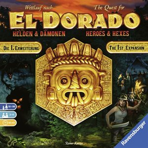 El Dorado: Expansion Heroes & Hexes (No Amazon Sales)