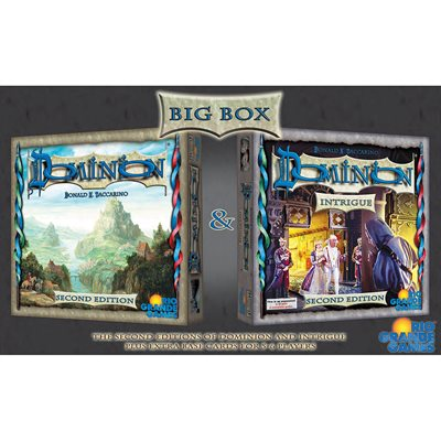 Dominion: Big Box (includes Intrigue) 2nd Edition