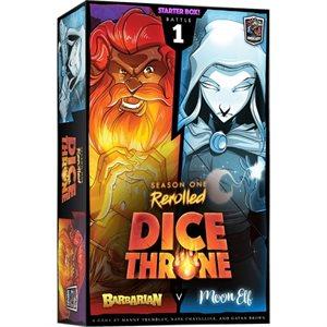 Dice Throne: Season One: Barbarian vs Moon (No Amazon Sales)