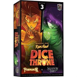 Dice Throne: Season One: Pyromancer vv Shadow Thief (No Amazon Sales)