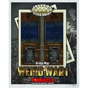Savage Worlds: Weird War I Map Bridge / Trenches