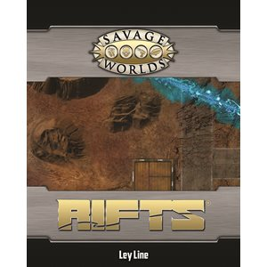 Savage Worlds: Rifts: Map: Wasteland Portal and Ley Line