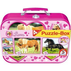 Puzzle: Child 2x26 2x48 Horses