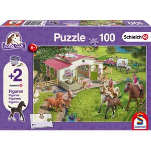 Puzzle: Child 100 Schleich Horse Ride into the Countryside