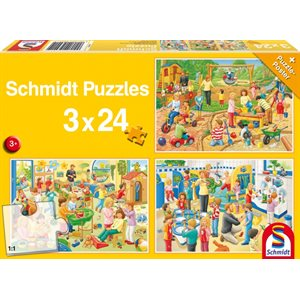 Puzzle: Child 3x24 A Day at Playschool