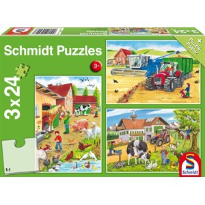 Puzzle: Child 3x24 On the farm
