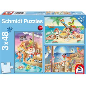 Puzzle: Child 3x48 Gang of Pirates