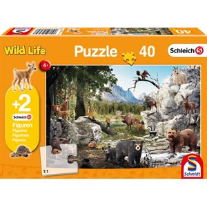 Puzzle: 40 The Animals Of The Forest