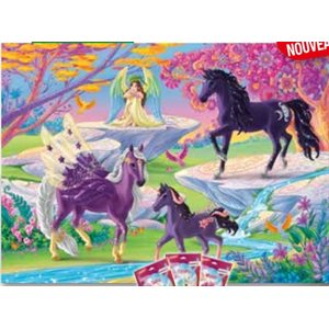 Puzzle: 100 Glade with Unicorn Family ^ Q2 2021
