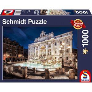 Puzzle: 1000 Trevi Fountain, Rome