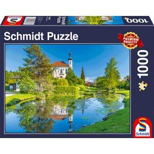 Puzzle: 1000 Breitbrunn , Chiemgau