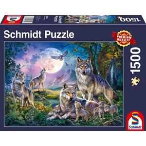 Puzzle: 1500 Wolves