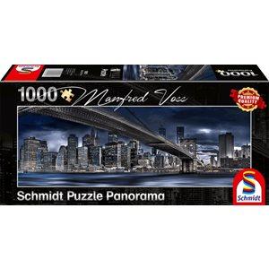 Puzzle: 1000 New York, Dark Night