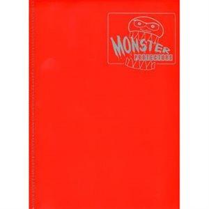 Monster Binder (9) Matte Red