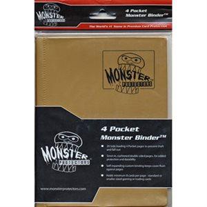 Monster Binder (4) Matte Gold