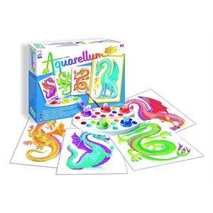 Aquarellum: Magic Canvas Junior Dragons (Multi) (No Amazon Sales)