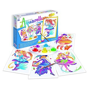 Aquarellum: Magic Canvas Junior Magical Girls (Multi) (No Amazon Sales)