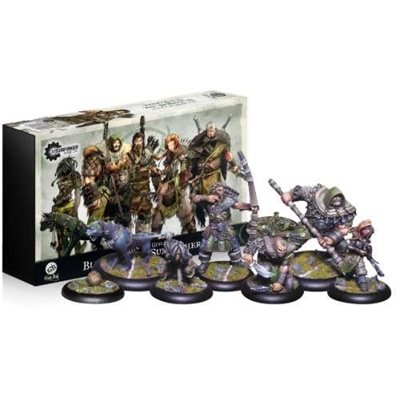 Guild Ball: Hunters Guild - Team Pack (6) - Blessed of the Sun Father