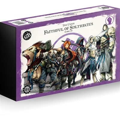 Guild Ball: Union - Team Pack (6) - Faithful of Solthecius