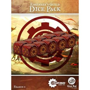 Guild Ball: Dice Pack (10) - Engineers Guild