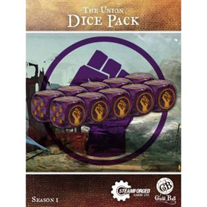 Guild Ball: Dice Pack (10) - The Union