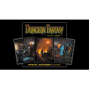 GURPS Dungeon Fantasy Roleplaying Game (BOOK)