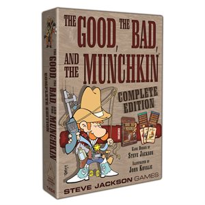 The Good the Bad and the Munchkin Complete Edition