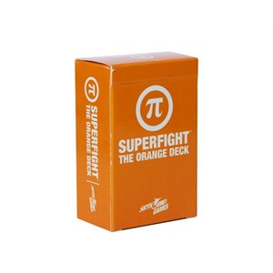 SUPERFIGHT: The Orange Deck (Nerd Culture) (No Amazon Sales)