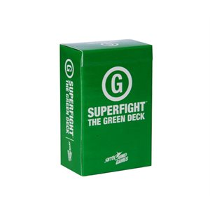 SUPERFIGHT: The Green Deck (Kid Friendly) (No Amazon Sales)