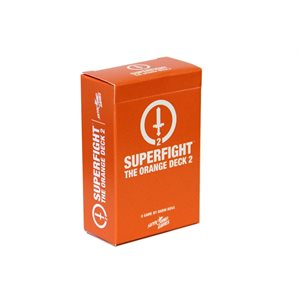 SUPERFIGHT: The Orange Deck 2 (Nerd Culture) (No Amazon Sales)