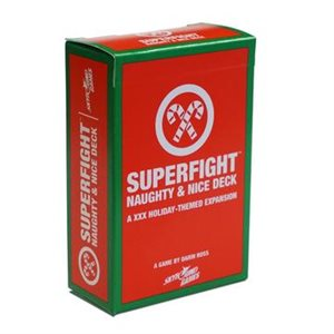 SUPERFIGHT: The Naughty & Nice Deck (No Amazon Sales)